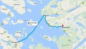 Mappa Norvegia