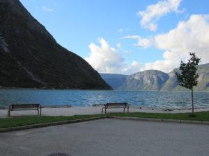 Eidfjord, scorcio dell'Hardangerfjord