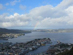 Bergen vista da Floyen