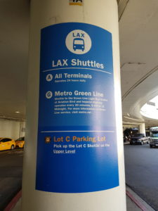 Los Angeles – Da aeroporto di Los Angeles per Downtown e Hollywood