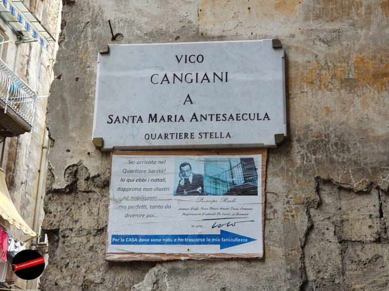 Napoli – Rione Sanità – Itinerario