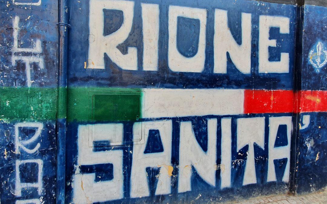 Napoli – I murales del Rione Sanità