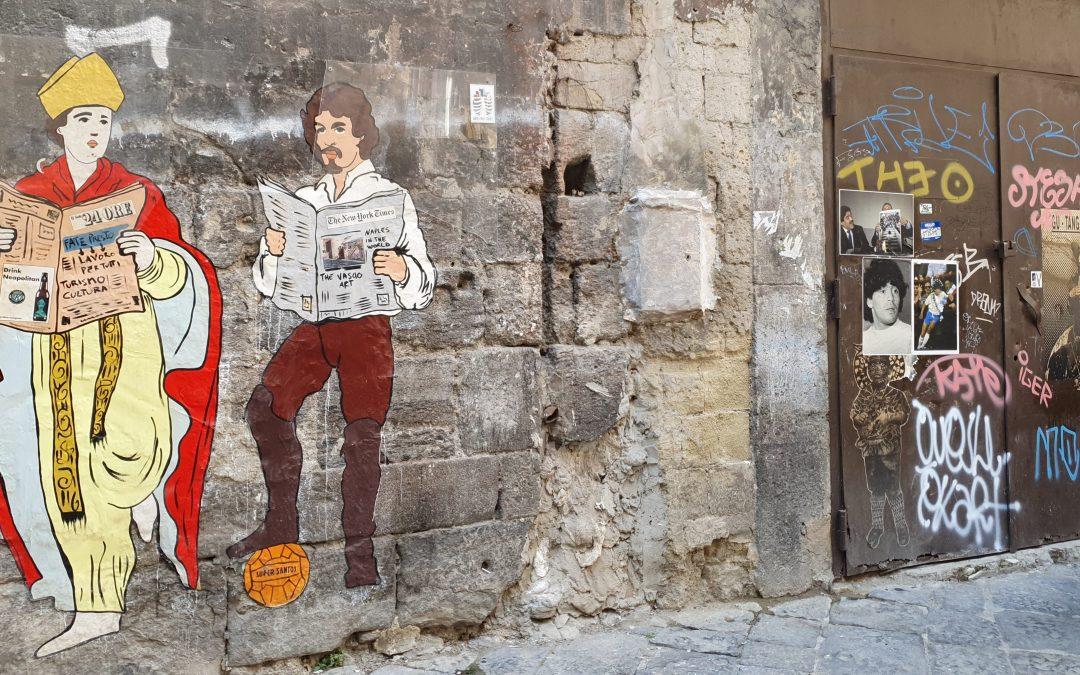 Napoli – I murales del centro storico